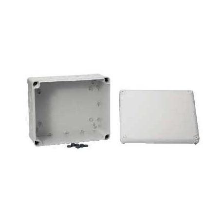 Boîte de dérivation à entrées prédéfoncées Mureva Box - 275 x 225 x 120 mm - Gris