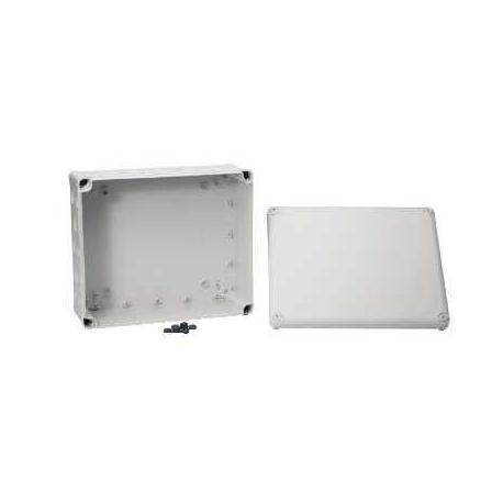 Boîte de dérivation à entrées prédéfoncées Mureva Box - 325 x 275 x 120 mm - Gris