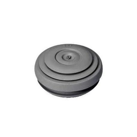 Lot de 10 - Entrées de câbles IP55 Mureva Box - Diamètre 20 mm - Gris foncé