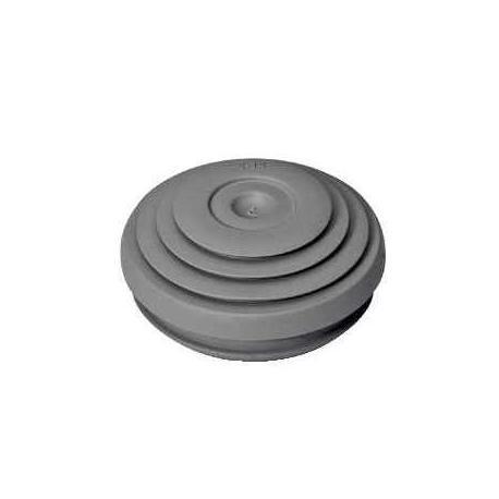 Lot de 10 - Entrées de câbles IP55 Mureva Box - Diamètre 25 mm - Gris foncé