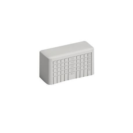 Raccords de goulotte pour boîtes Mureva Box - 80 x 80 mm - Gris