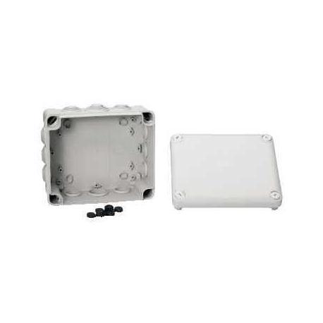 Boîte de dérivation à embouts IP55 Mureva Box - 175 x 150 x 80 mm - Gris
