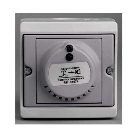 Détecteur de température Mureva - Gris - En saillie - IK07 IP55