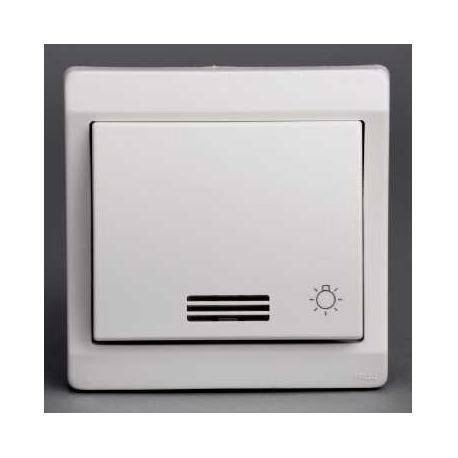 bouton poussoir lumineux avec picto lumineux mureva blanc encastr ip44 ik08 schneider. Black Bedroom Furniture Sets. Home Design Ideas