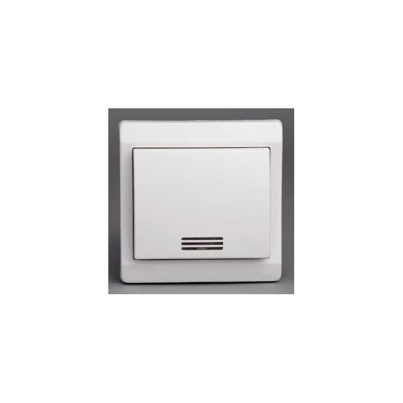bouton poussoir lumineux mureva blanc encastr ip44 ik08 schneider. Black Bedroom Furniture Sets. Home Design Ideas