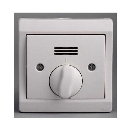 Interrupteur double pour volets roulants en direct Mureva - Blanc - Encastré - IP44 IK08