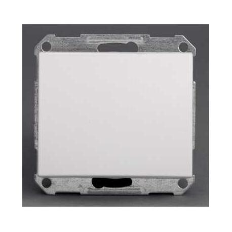 Bouton poussoir Mureva - Blanc - Composable - Encastré - IP44 IK08