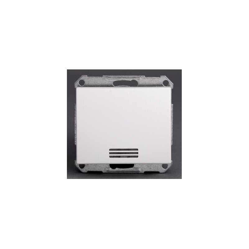 bouton poussoir lumineux mureva blanc composable. Black Bedroom Furniture Sets. Home Design Ideas