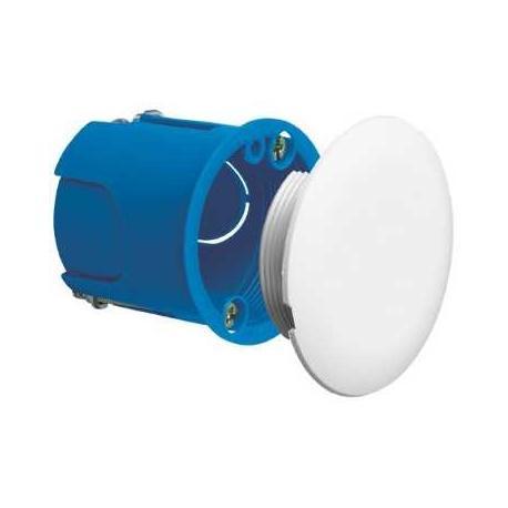 Boîte d'applique Multifix Plus avec couvercle plein non affleurant - Diamètre 40 mm - Profondeur 40 mm