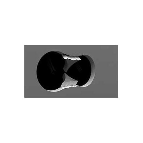 Scie cloche pour cloisons sèches - Diamètre 67 mm - Avec ressort