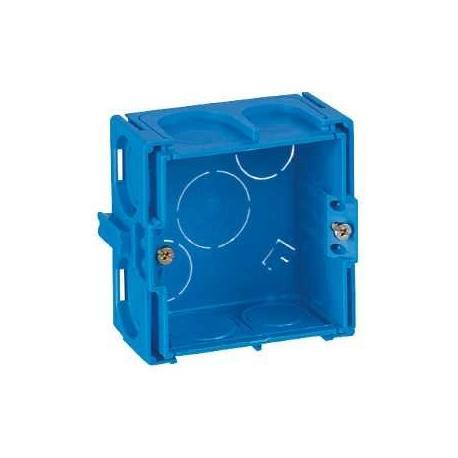 Boîte à sceller Modulo carrée - 1 poste - Profondeur 50 mm
