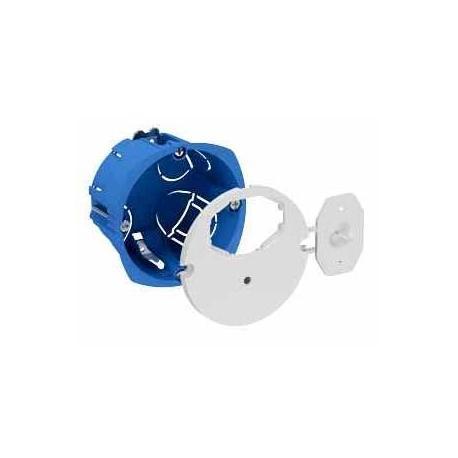 Boîte d'applique avec couvercle DCL affleurant - Diamètre 67 mm - Profondeur 40 mm