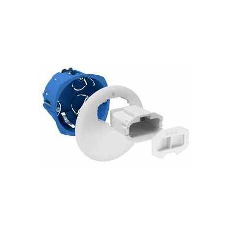 Boîte d'applique avec couvercle non affleurant + Connecteur