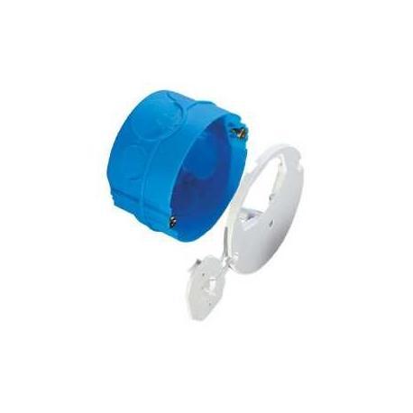 Lot de 10 - Boîte d'applique avec couvercle affleurant - Diamètre 67 mm - Profondeur 40 mm