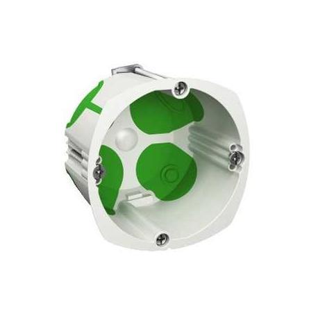 Boîte étanche Multifix Air - 1 poste - Diamètre 67 mm - Profondeur 40 mm