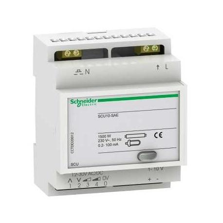 Télévariateur pour lampes fluorescentes - 1-10 V - SCU10-SAE - 4 entrées numériques