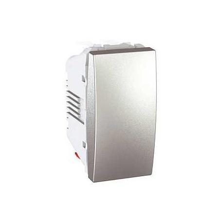 Va-et-vient Unica - Bornes auto - Aluminium - 1 module
