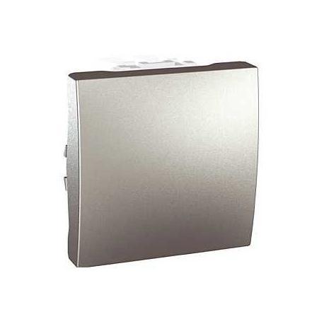 Va-et-vient Unica - Bornes auto - Aluminium - 2 modules