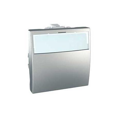 Porte-étiquette lumineux Unica - 10 A - Bornes à vis - Aluminium