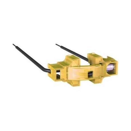 Lot de 10 - Lampe LED ambre de rechange pour mécanismes avec lampe de localisation Unica
