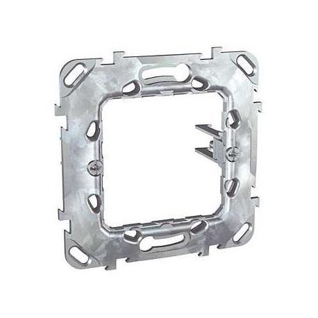 Support de fixation à griffes Unica - 1 poste 2 modules - Entraxe 71 mm