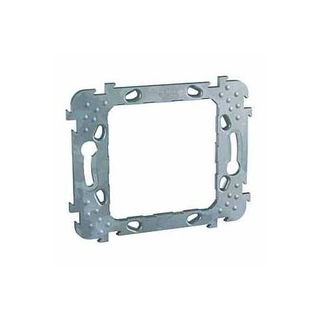 Support de fixation Unica - 1 poste 2 modules - Entraxe 57 mm