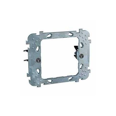 Lot de 40 - Support de fixation à griffes Unica - 1 poste 2 modules - Entraxe 57 mm