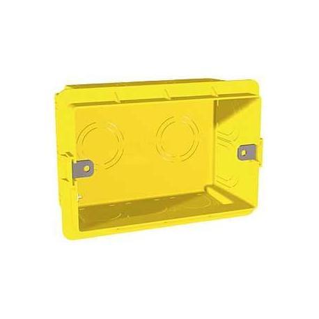 Boîte d'encastrement pour maçonnerie Unica - 3 modules - Prof. 48 mm