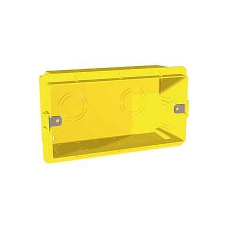 Boîte d'encastrement pour maçonnerie Unica - 4 modules - Prof. 48 mm