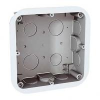 Boîte d'encastrement pour cloisons creuses Unica - 2x4 modules - Prof. 40 mm