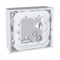 Boîte pour montage en saillie Unica - Gris clair - 2 modules