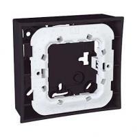 Boîte pour montage en saillie Unica - Gris foncé - 2 modules