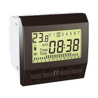 Thermostat programmable hebdomadaire Unica - Graphite