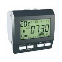 Réveil Unica - 230 V CA - 9 alarmes programmables - Graphite