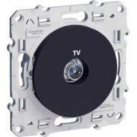 Prise TV Odace - Anthracite