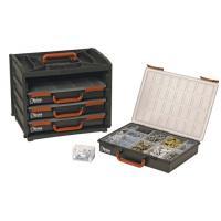 Boîte de rangement 4 mallettes - 376 x 265 x 310 mm