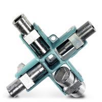 Clé universelle pour armoire électrique SCREWFOX - 9 fermetures (SF-CCK 9)