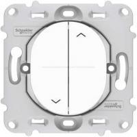 Interrupteur pour volets roulants montée / descente - A vis - Ovalis