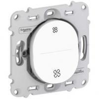 Interrupteur pour VMC 2 positions - Blanc - A vis - Ovalis
