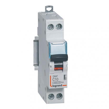 Disjoncteur DNX³ - 10 A - 1P+N - Courbe C - Vis/vis