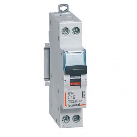 Disjoncteur DNX³ - 16 A - 1P+N - Courbe C - Vis/vis