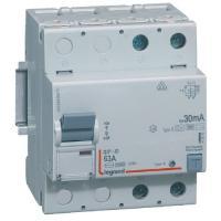 Interrupteur différentiel 63 A - Type B - 2P - 30 mA - Vis/vis - Haut/bas - DX³-ID