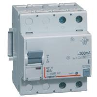Interrupteur différentiel 40 A - Type B - 2P - 300 mA - Vis/vis - Haut/bas - DX³-ID