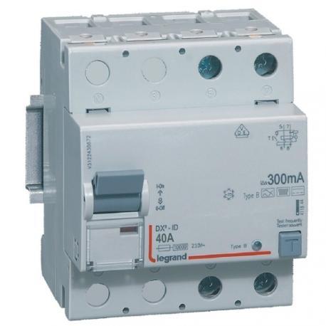 Legrand 411844 - Interrupteur différentiel 300 mA - Type B - 40 A ... dd907d756a78