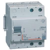 Interrupteur différentiel 63 A - Type B - 2P - 300 mA - Vis/vis - Haut/bas - DX³-ID