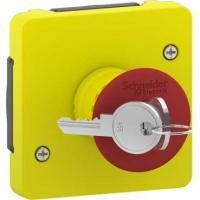 Arrêt d'urgence à clé Mureva Styl - A composer - A vis - En saillie ou encastré - IP55 IK08