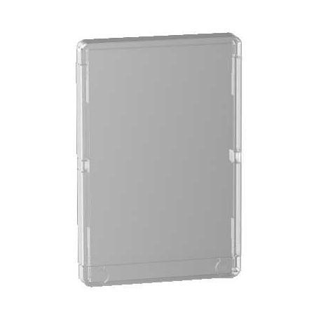 Porte transparente pour coffret 13 modules 2 rangées Schneider Opale