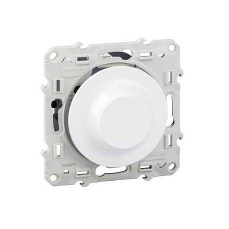 Variateur universel Odace spécial LED à variation - Blanc