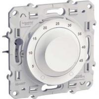 Thermostat électronique 10 A Odace pour plancher chauffant - Blanc