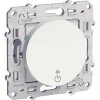Interrupteur temporisé Odace - 1840 W/VA - Blanc